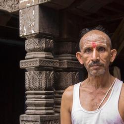 Hindu Monnik in Varanasi