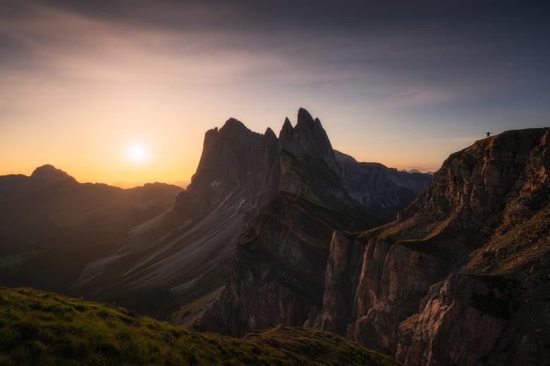 On top of the world - Samen met een andere fotograaf hebben we een week lang door de Dolomieten gereisd, op zoek naar de mooiste locaties voor landsch