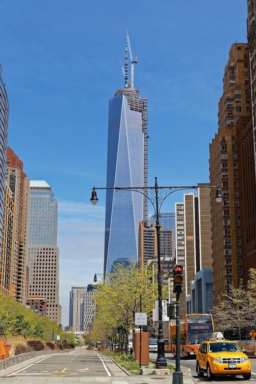 WTC NYC 2 - WTC in NEw York nog in aanboud (voorjaar 2013)