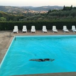 Swimmingpool with a view! #fitblijvenopvakantie