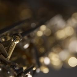 Close-up van saxophone