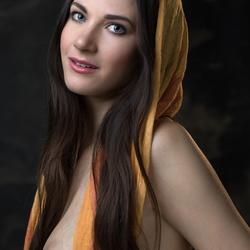 Lauren with scarf