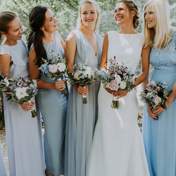 Bride + Bridemaids
