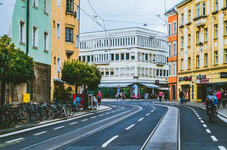 Kleurrijk Oostenrijk - Throwback naar Oostenrijk, een jaar geleden. Deze foto is gemaakt in Innsbruck.