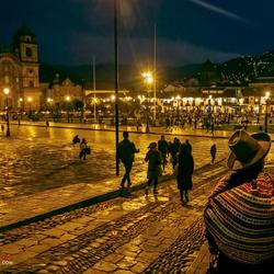 Avond in Cusco