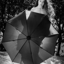 The umbrella...
