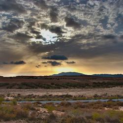 Zonsondergang Murcia