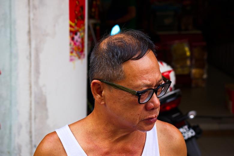 Markt Georgetown - Maleisië is een apart land. Mensen uit alle windstreken leven daar met elkaar. Op een van de markten op Penang zie je dan ook Indis