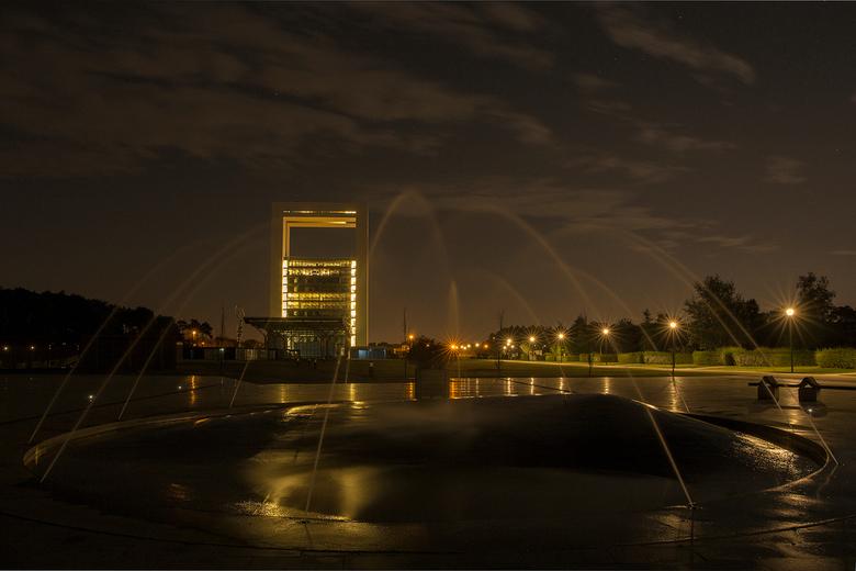 Floriade bij Nacht - Floriade in Venlo bij nacht