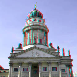 French Cathedral Berlin 3D