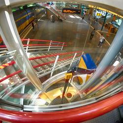 roller coaster station