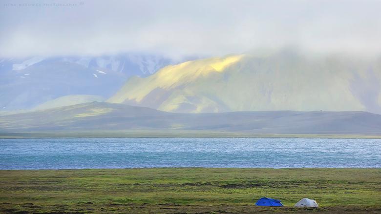 Extreme Camping - IJsland