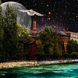 uil en maan, Berlijn