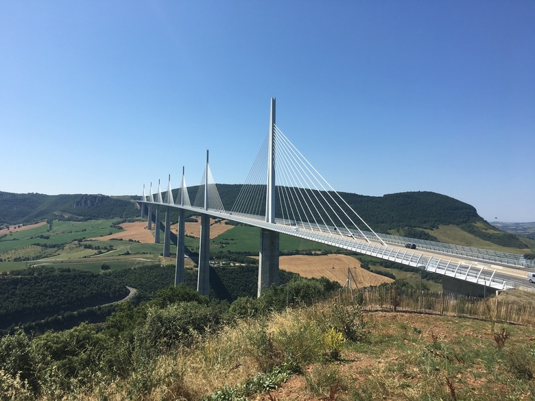 Viaduc de Millau - Viaduc de Millau in Frankrijk