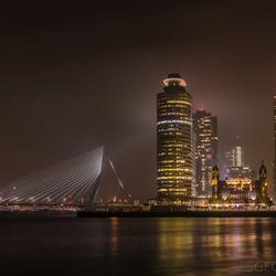 Nacht fotografie Rotterdam