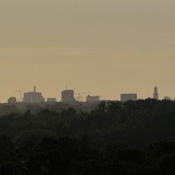 Uitzicht vanaf kasteel Sterkenburg