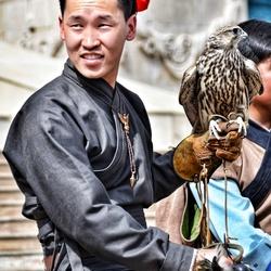 Man with a Bird
