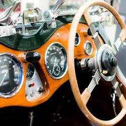 Dashboard oldtimer