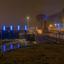 Doesburg in de Avond  de blauwe knoop