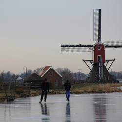 Hollands winterplaatje