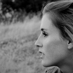 Portret black and white