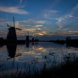Zonsopkomst Kinderdijk - 3