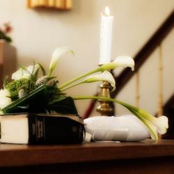 Boeket in de kerk