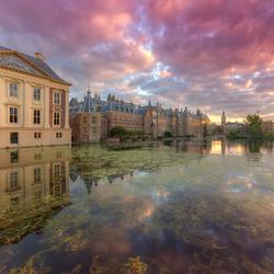 Mauritshuis Museum en Binnenhof Den Haag