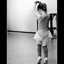 De eenzame danseres...