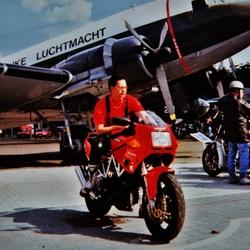 Mijn Ducati...