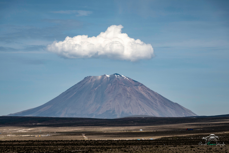 Landschap Peru -