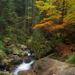 Hochfall Bodenmais in Beieren.