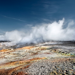 Iceland - Hydrothermal vent -