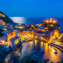 Vernazza by Moonlight