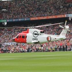 Helicopter van.....