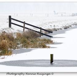 Winterse landschap