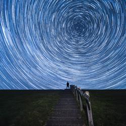Watching the stars go round
