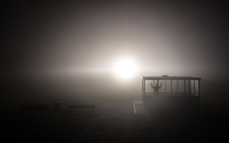 Mist - Bevrijd Mij - Hunkerend naar het licht op deze koude, donkere dagen.....<br /> <br /> Genomen vanaf de dijk nabij Rilland-Bath. Het licht dat