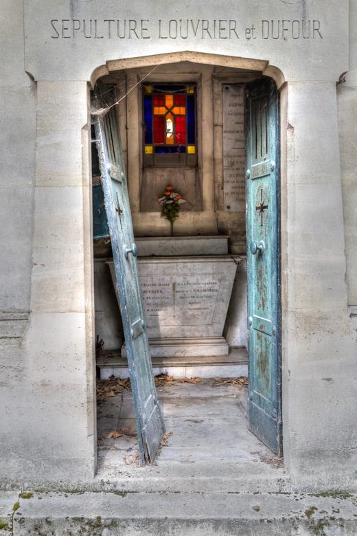 Père Lachaise - Graftombe op de beroemde begraafplaats in Parijs