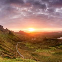 The Quiraing, Isle of Skye, Schotland