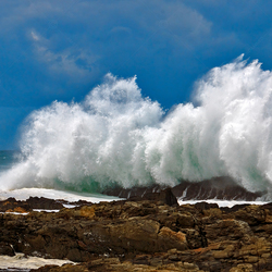 Storms River in Zuid-Afrika
