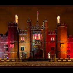 Colourful Hampton Court Palace