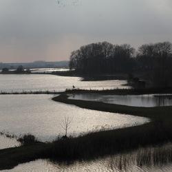 Zutphen, IJssel bij hoogwater