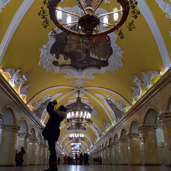 Moscow subwaystation