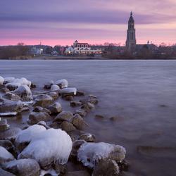 Winterse Rijn bij Rhenen (45/365)