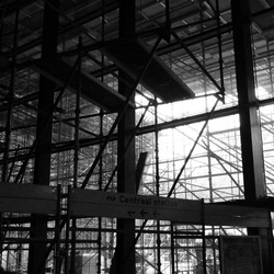 rotterdam cs in aanbouw 2012