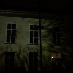 projectie op huis