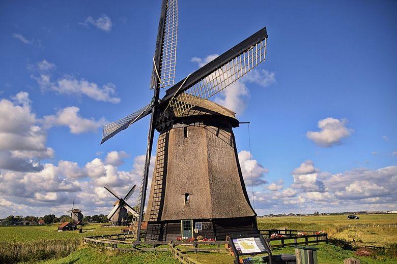 Molen - Deze foto is gemaakt bij het molenmuseum te Schermerhorn.