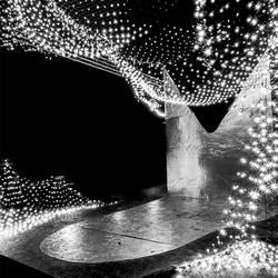 Lichtjes in zwart wit