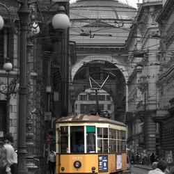 Milaneese tram (tweede versie)